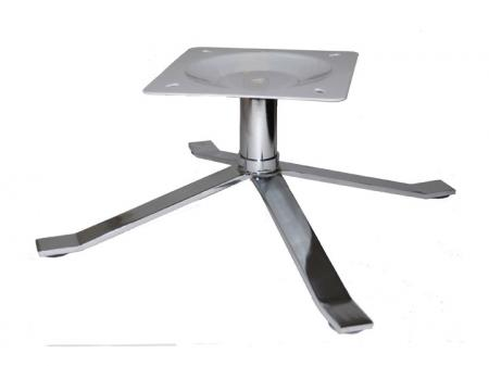 Polished Mid Century Chrome Chair Base