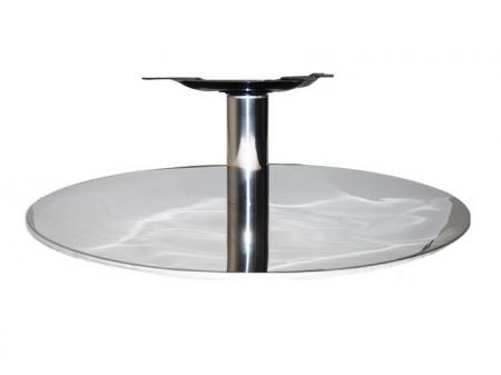 Flat Stainless Steel Swivel Chair Base