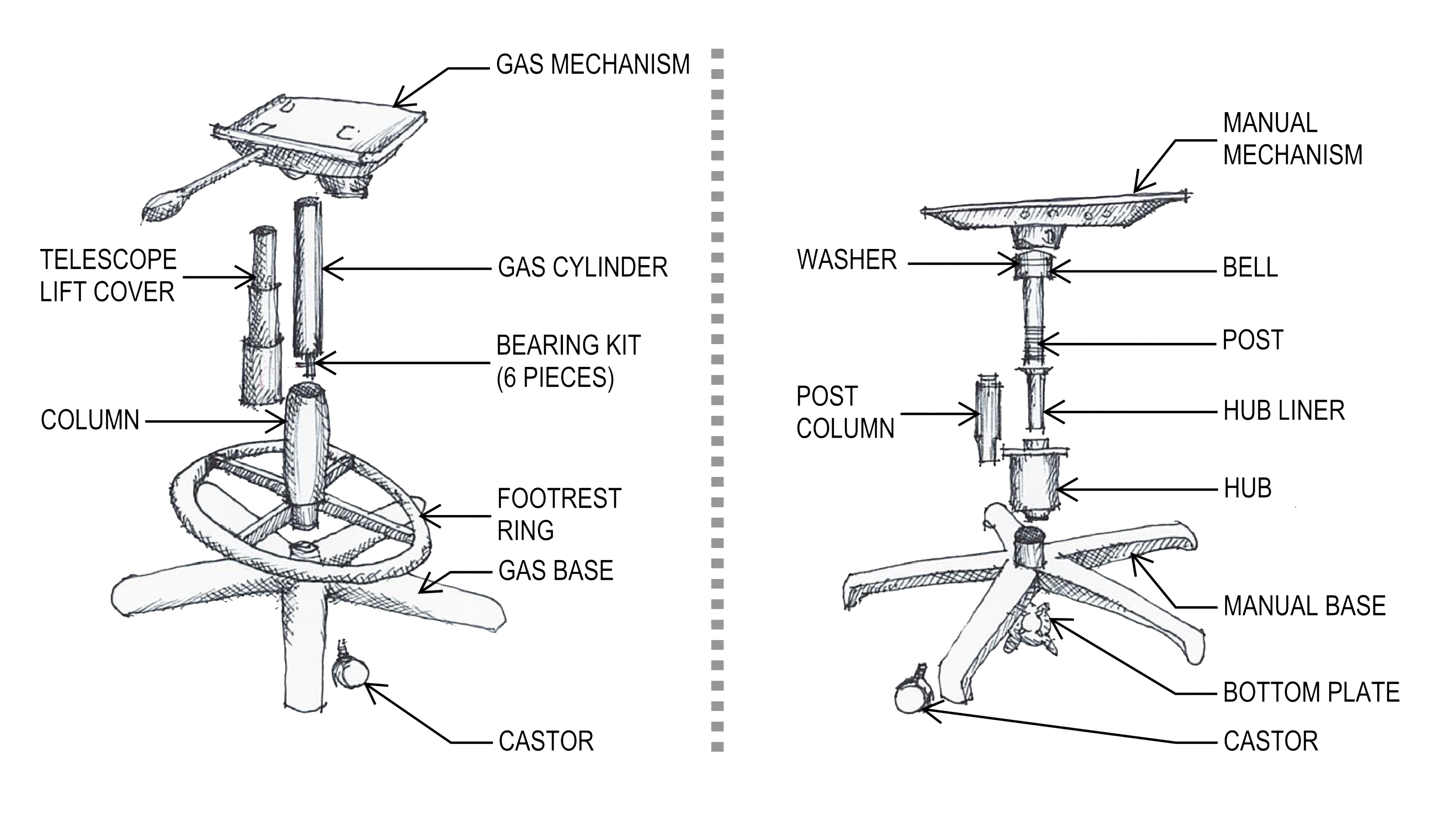 office chair hydraulic diagram my chair parts  my chair parts